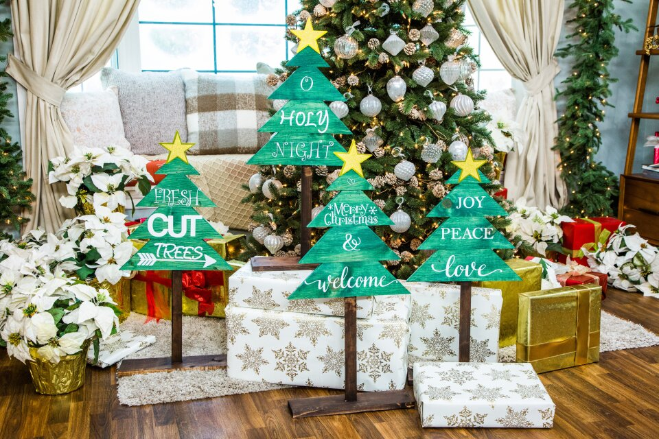 DIY Rustic Christmas Three Wishes