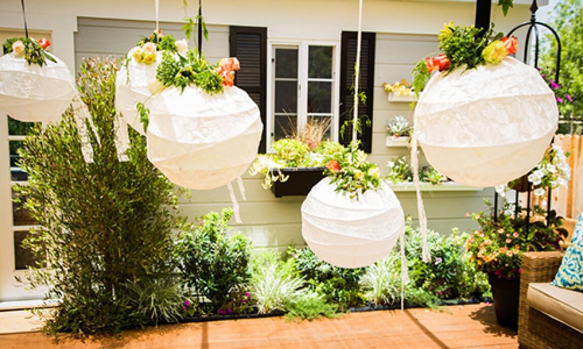DIY Lace Lanterns for Wedding with Jessie Jane