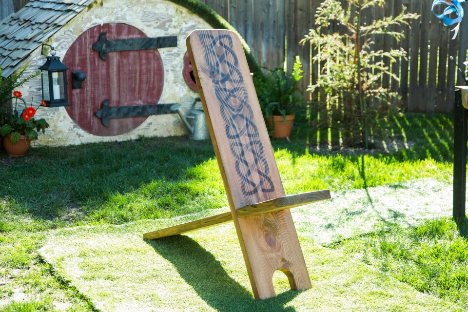 DIY Irish Chair