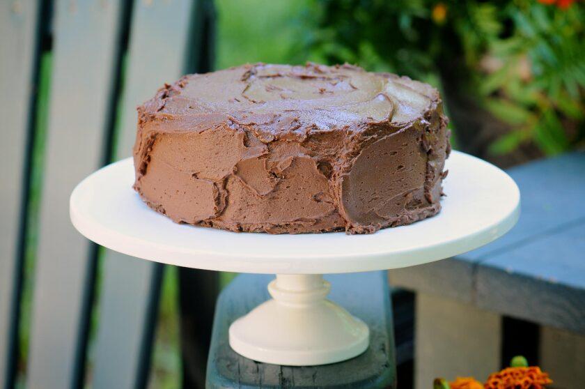 Super-Simple, Amazing Chocolate Cake