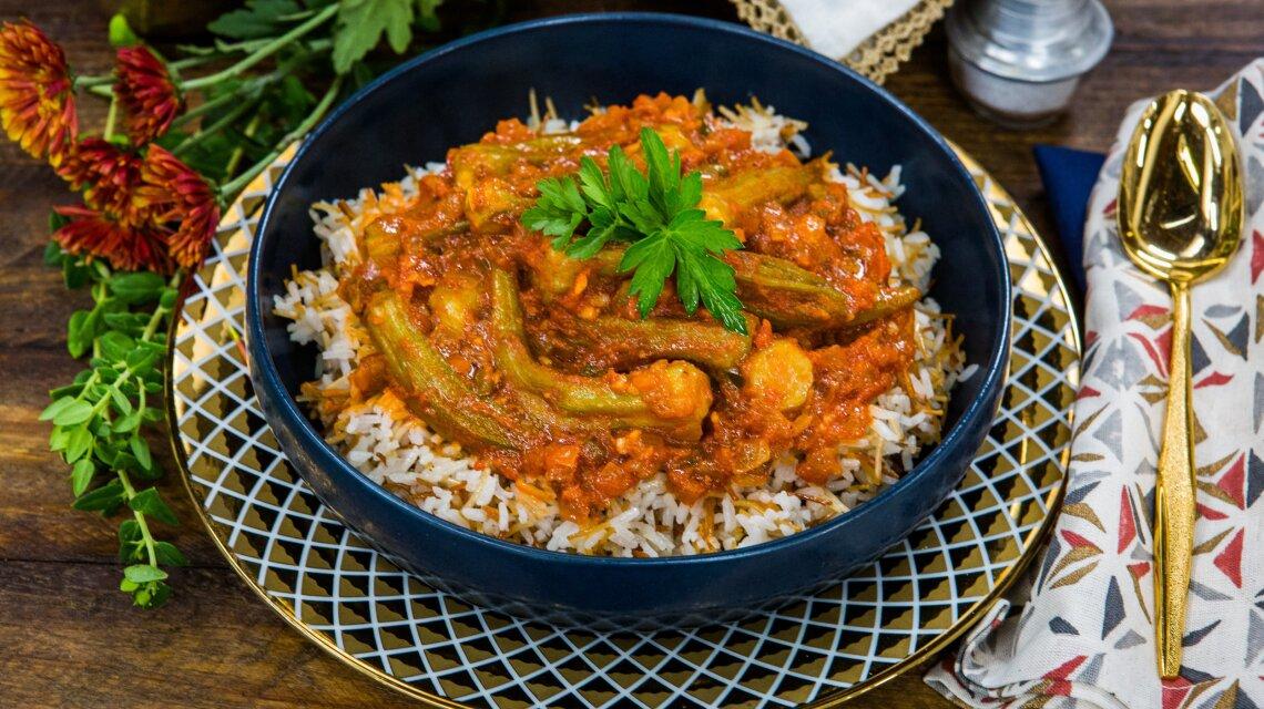 Mena Massoud - Bamya (Okra Stew)