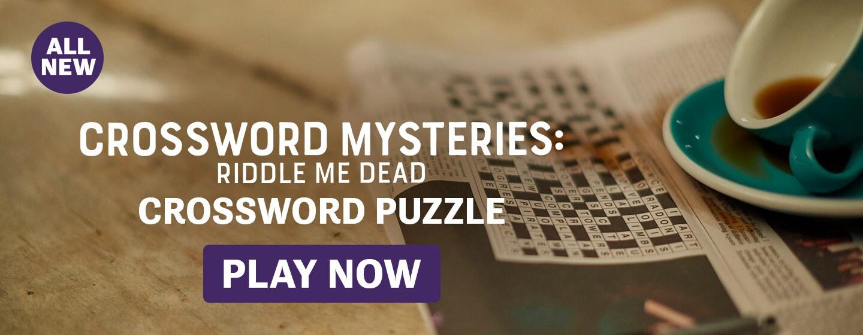 Crossword Mysteries: Riddle Me Dead Crossword Puzzle