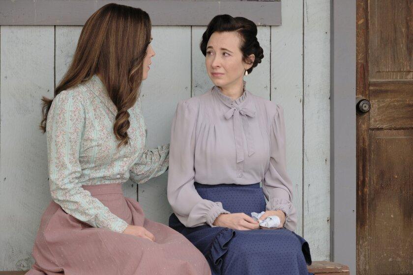 Elizabeth Comforts Florence - When Calls the Heart Season 8 Episode 7