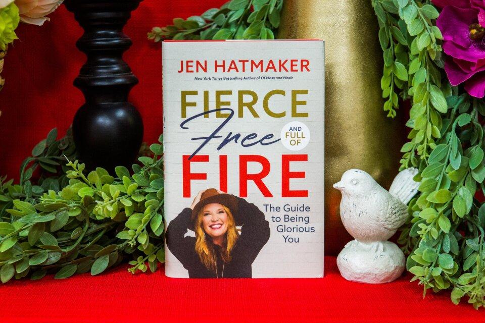 "Jen Hatmaker Shares New Book ""Fierce, Free, and Full of Fire"""