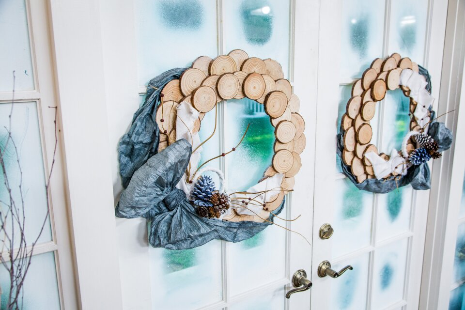 DIY Wood Wreath