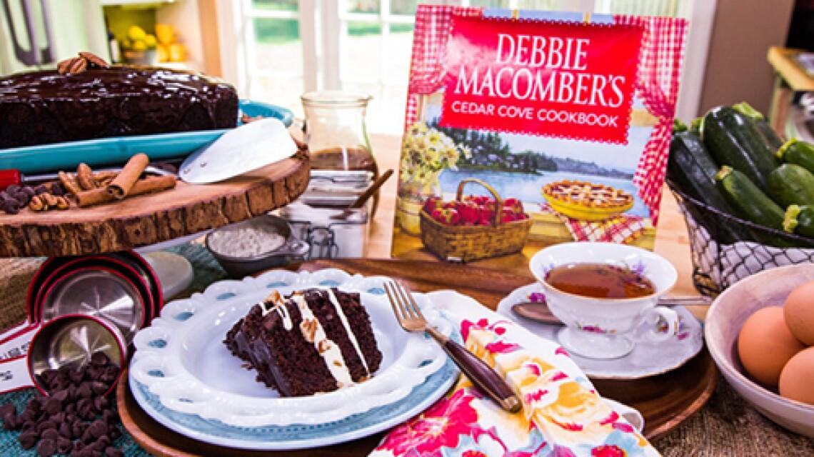 Debbie Macomber's Chocolate Zucchini Cake with Chocolate Ganache