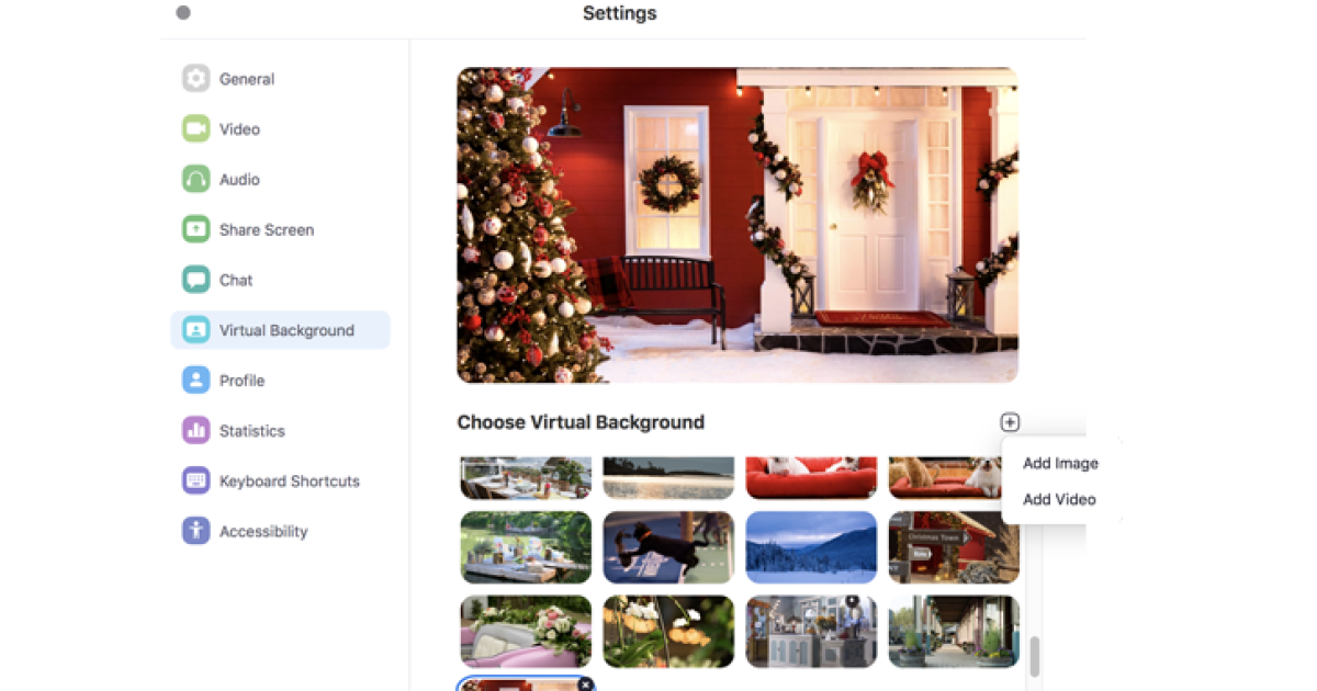 How To Upload A Virtual Background Virtual Backgrounds