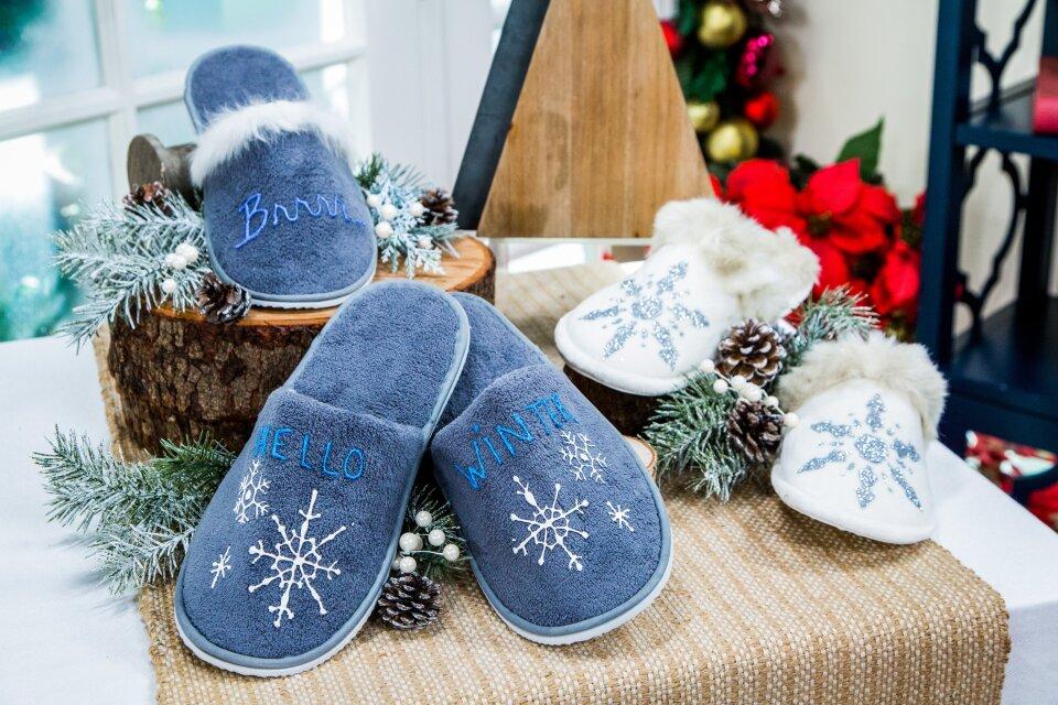 DIY Winter Slippers