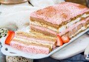 Neapolitan Icebox Cake