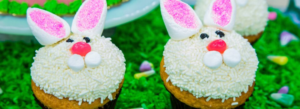 Home Family Easter Bunny Cakes