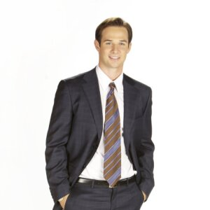 Ryan Merriman as Jonathan from the Hallmark Movie Elevator Girl