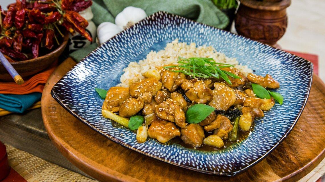 Taiwanese Basil Chicken