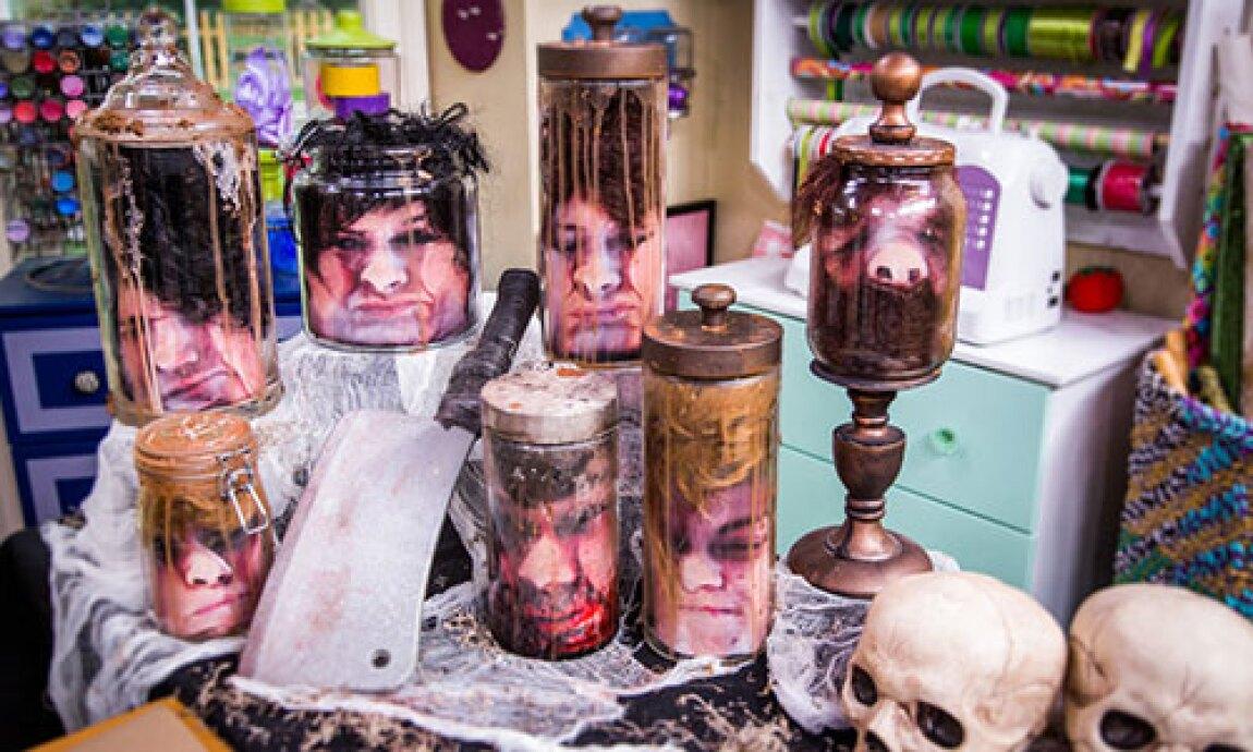 Tanya Memme's DIY Jar Head Decor