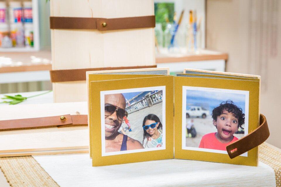 DIY Summer Photo Albums
