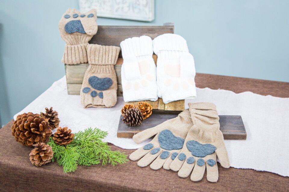 DIY Animal Gloves