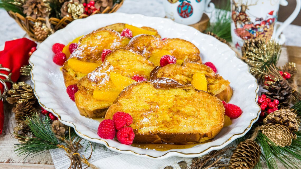 Catherine McCord - Holiday Challah French Toast