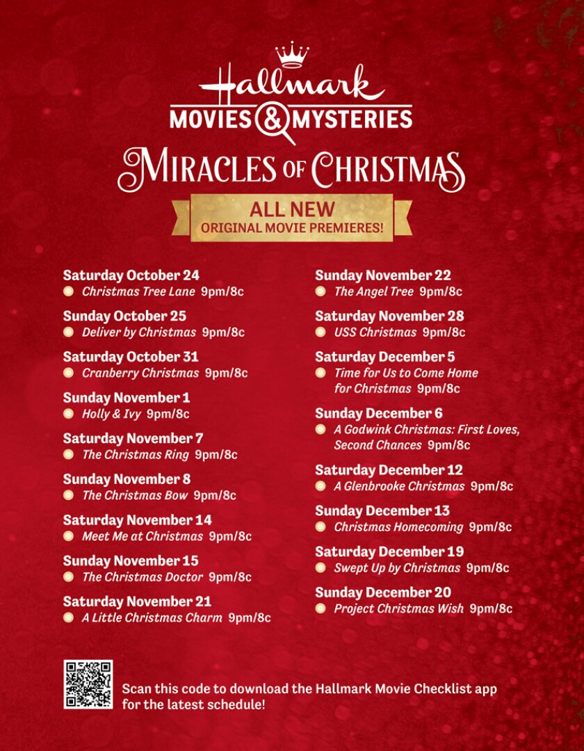 Christmas 2020 New Movies   Miracles of Christmas 2020