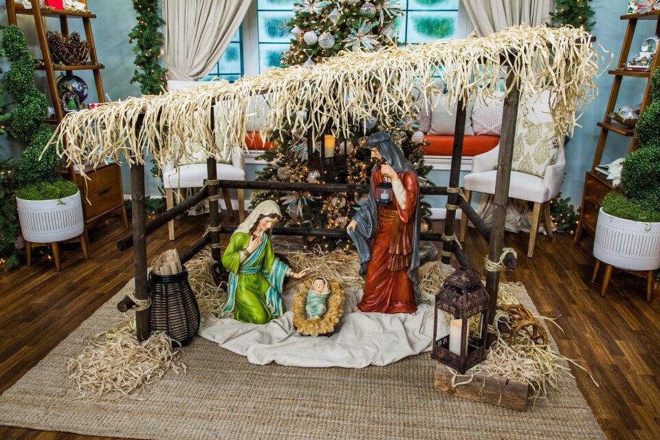 DIY Nativity Scene