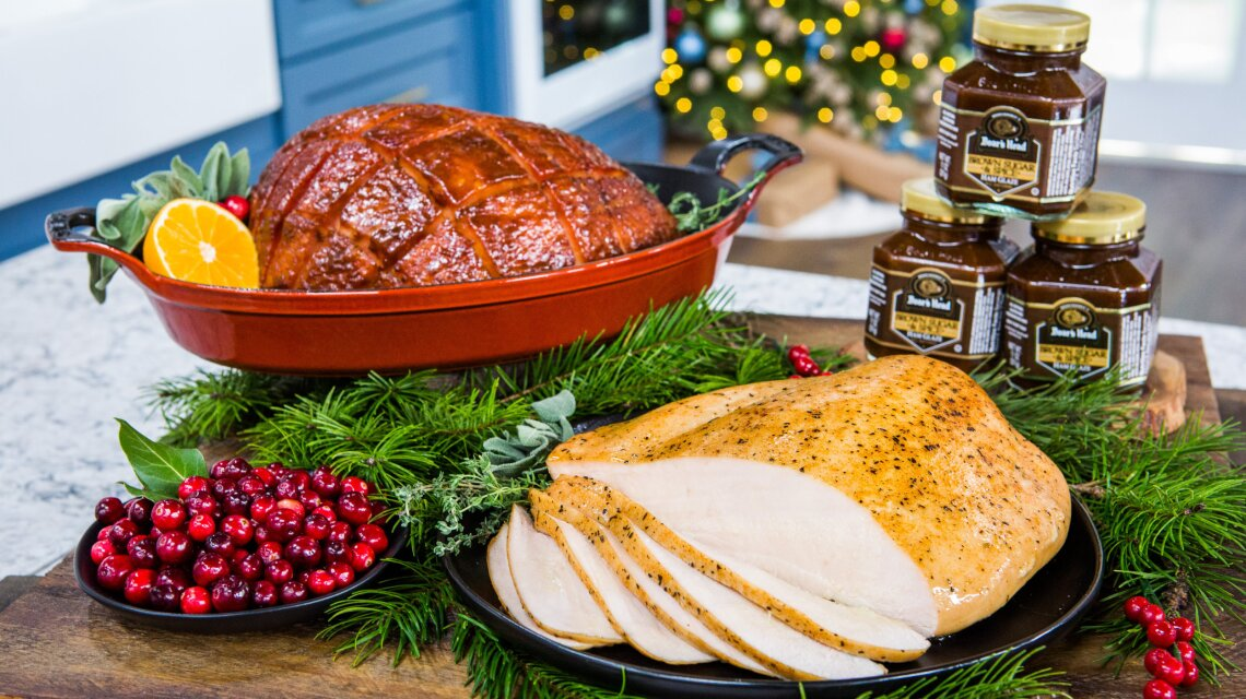 Boar's Head Sweet Slice Boneless Smoked Ham & Turkey