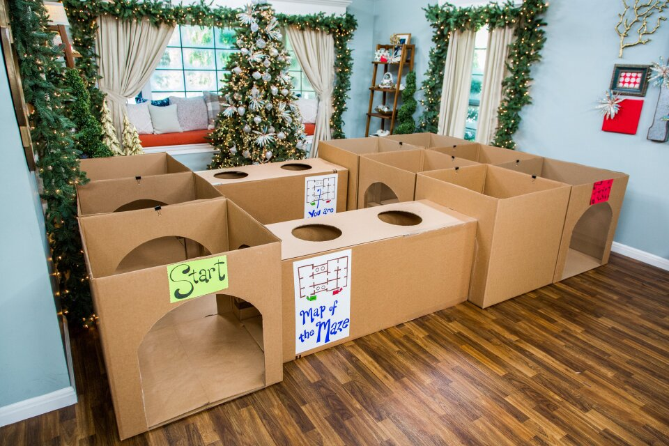 DIY Maze for Kids