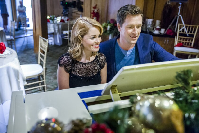 """Candace Cameron Bure stars in the Hallmark Channel original movie, """"A Christmas Detour"""""""
