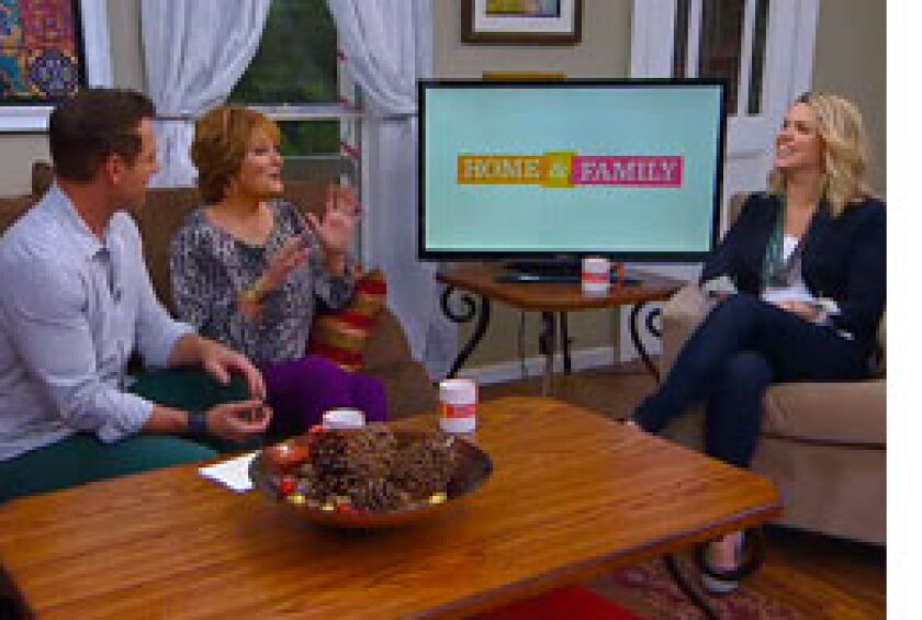 Today on Home & Family: Arielle Kebbel