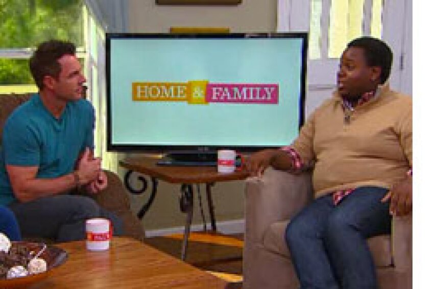 Today on Home & Family: Alex Newell