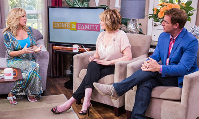 Today on Home & Family Wednesday, June 18th, 2014