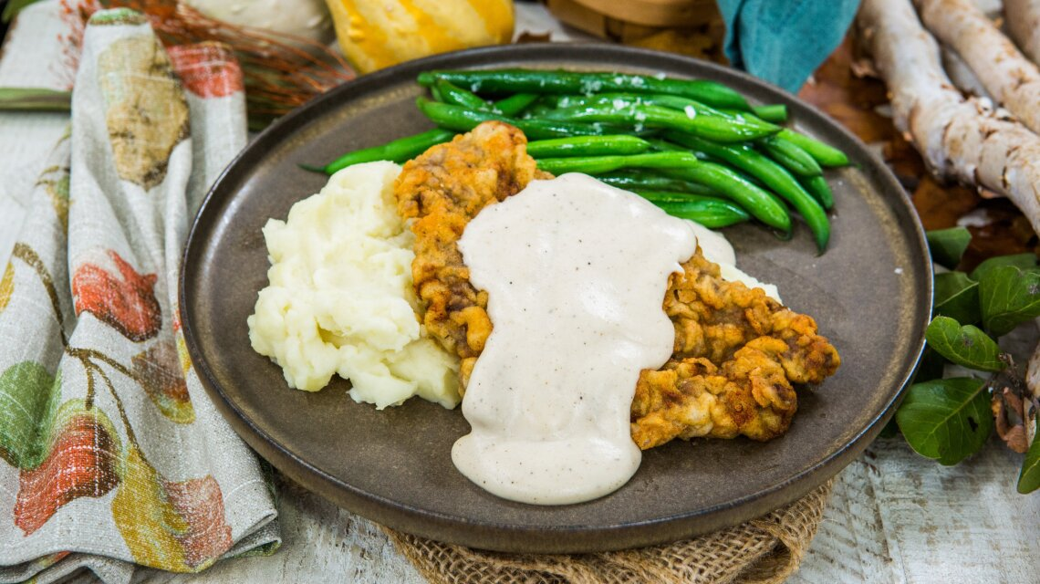 Recipe Mary Heffernan Brian S Chicken Fried Steak With Country Gravy