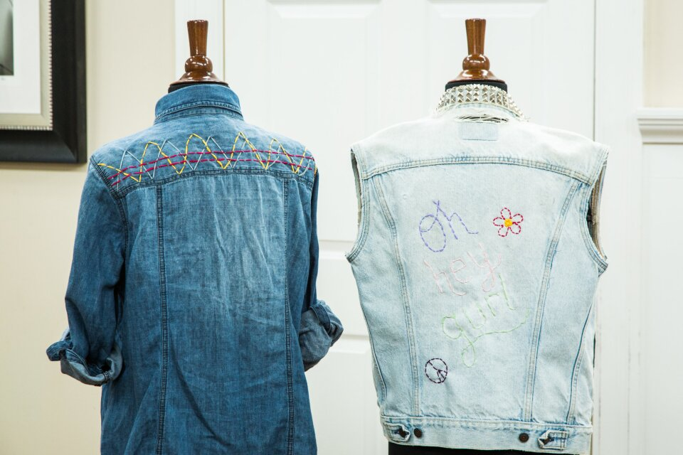 Orly's DIY Embroidered Jackets