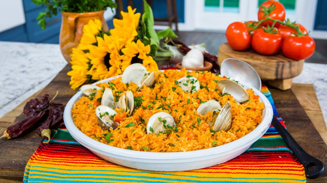 Pati Jinich - Arroz Con Almejas (Dirty Rice with Clams)
