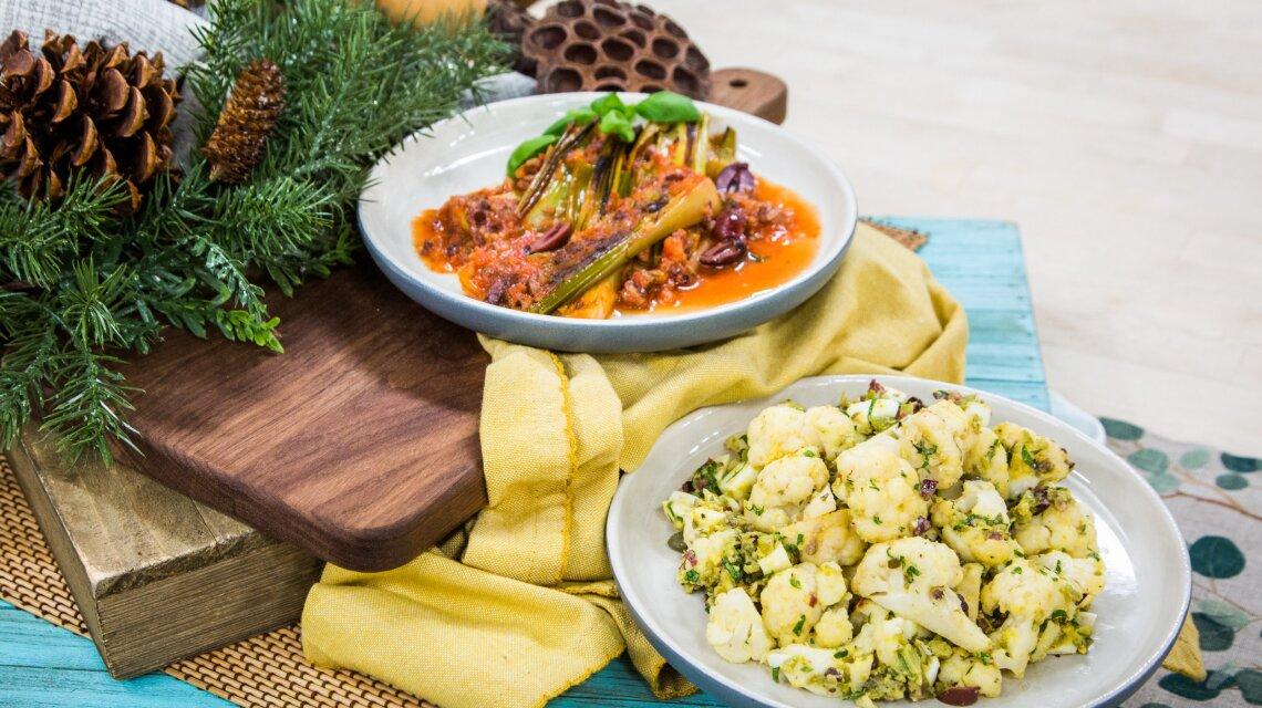 Sam Talbot - Sicilian Cauliflower with Anchovies