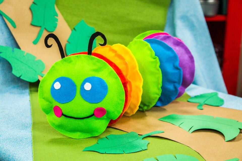 DIY Caterpillar Toy
