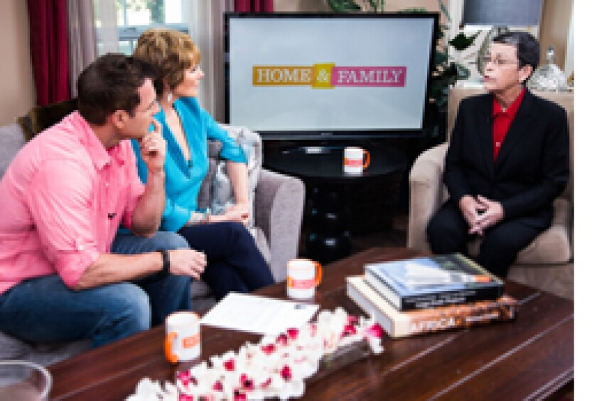 Today on Home & Family Monday, August 26th, 2013