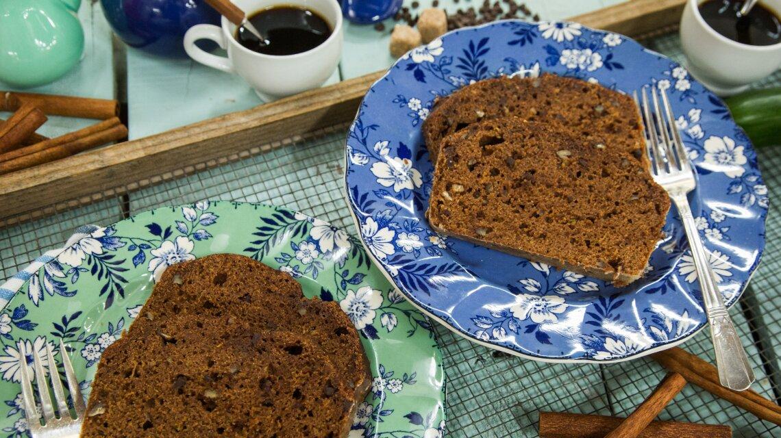 Cocoa Zucchini Bread