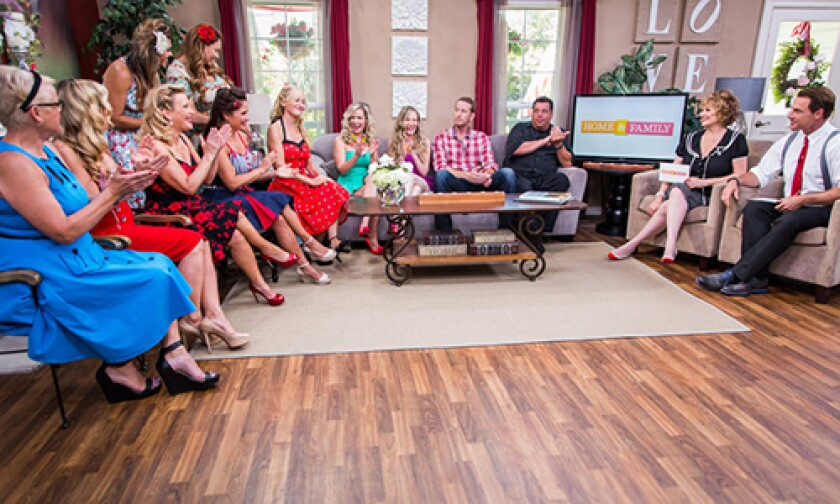 Today on Home & Family Friday, July 4th, 2014