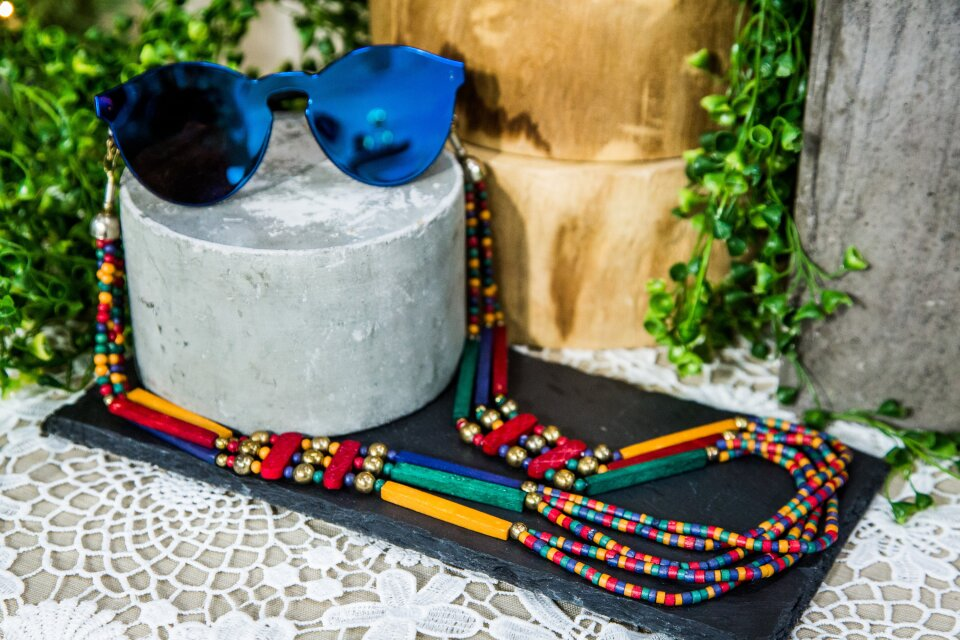 DIY Sunglass Chain