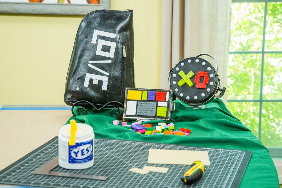 DIY Lego Handbags