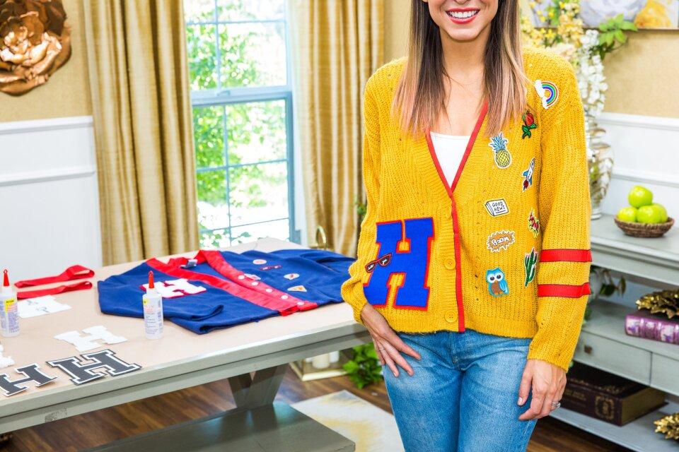 DIY Varsity Sweaters