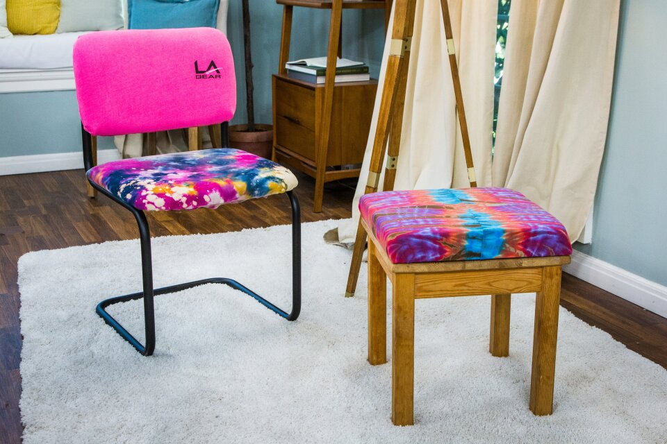 DIY Vintage T-Shirt Chair