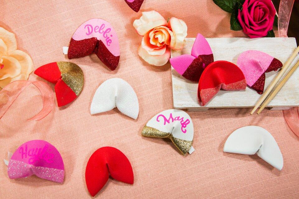 DIY Foam Fortune Cookies