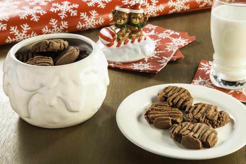 Chocolate Spiced Shortbread