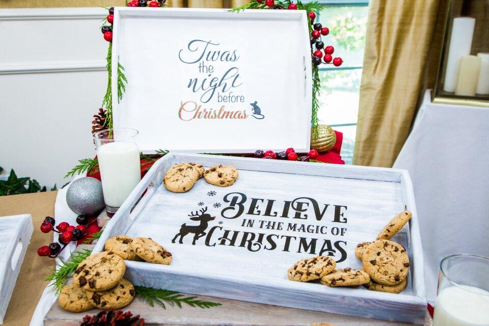 "DIY ""Night Before Christmas"" Cookie Tray"