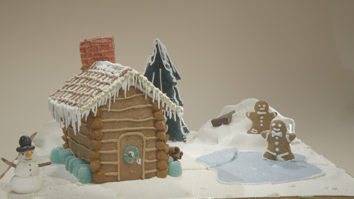 Laura's Christmas Cabin in The Woods
