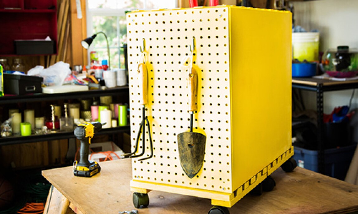 Mark's DIY Turn Your File Cabinet Into Garage Storage
