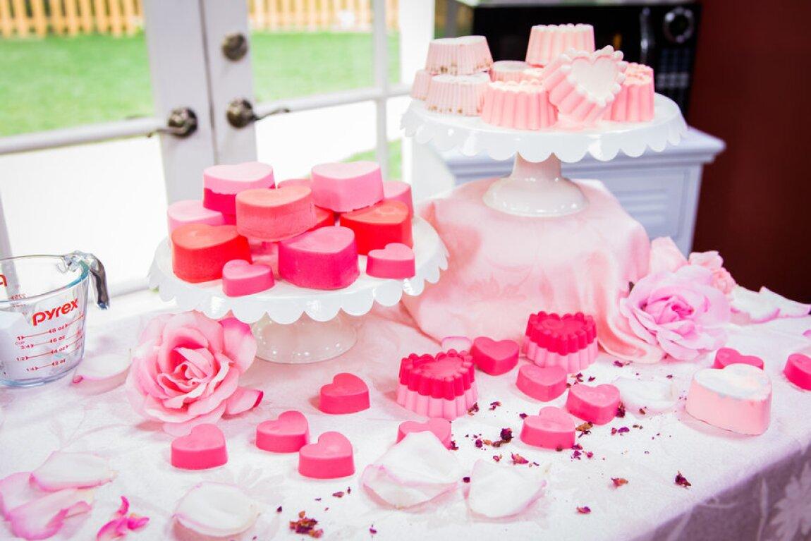 Sophie Uliano's DIY Valentine's Day Soaps