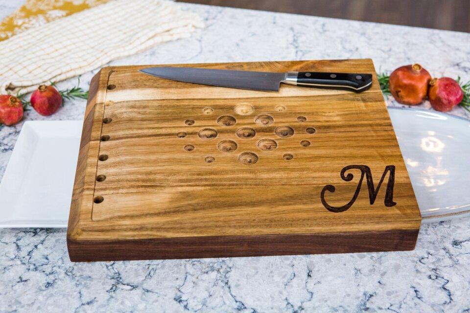 DIY Turkey Carving Board