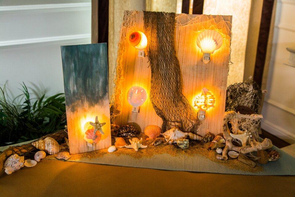 DIY Seashell Nightlights