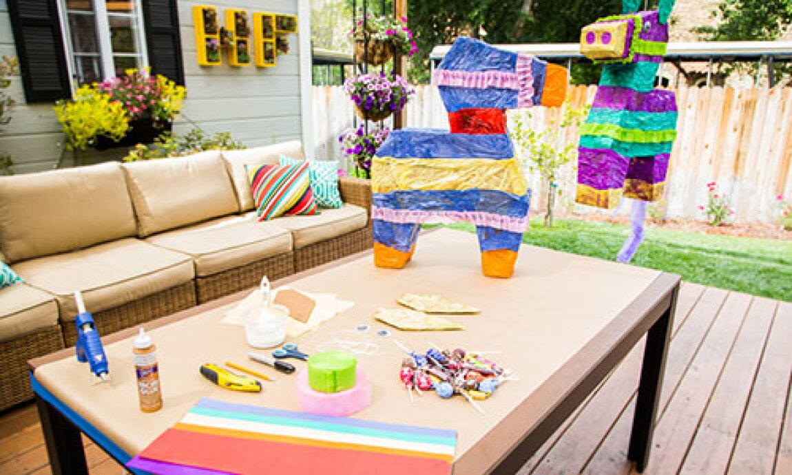 How to make your own DIY Piñata with Tanya Memme!