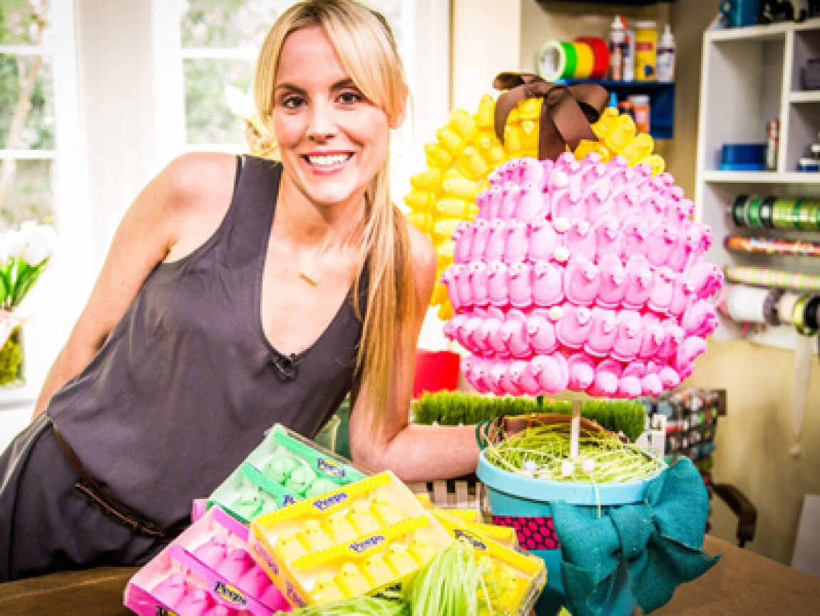 Jessie Jane's Easter Candy Topiaries!